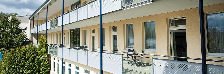 Orthopädische Klinik Hessisch Lichtenau - Außenansicht