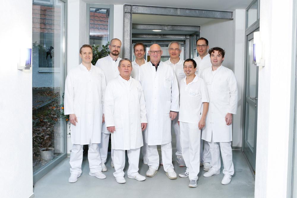 Orthopädische Klinik Hessisch Lichtenau - Fachzentrum Allgemeine Orthopädie und Traumatologie - Team