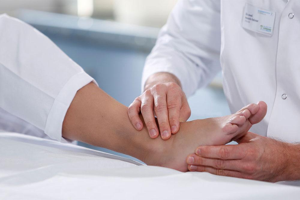 Orthopädische Klinik Hessisch Lichtenau - Fußchirurgie