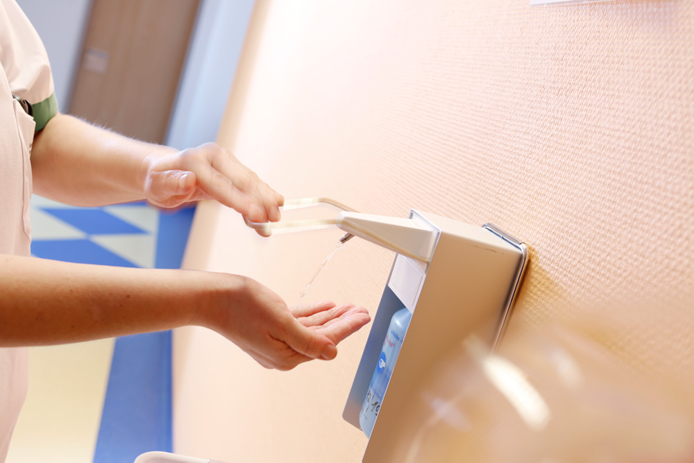 Orthopädische Klinik Hessisch Lichtenau - Hygiene - Desinfektionsspender