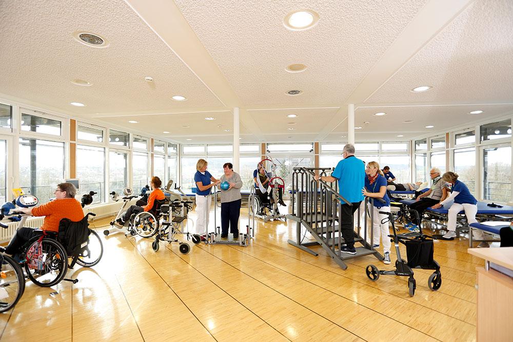 Orthopädische Klinik Hessisch Lichtenau - Physiotherapie