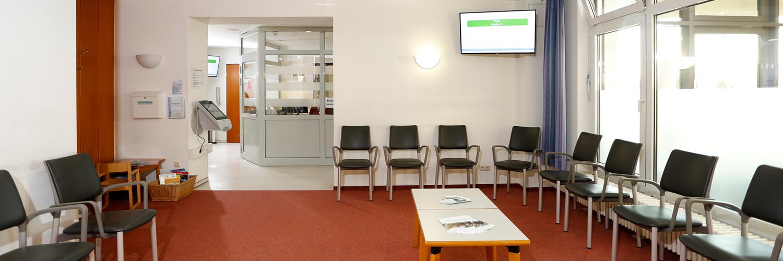 Orthopädische Klinik Hessisch Lichtenau - Wartebereich Klinik