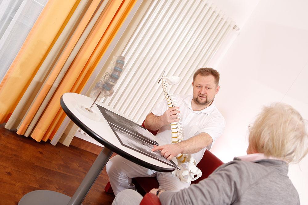 Orthopädische Klinik Hessisch Lichtenau - Wirbelsäulenorthopädie