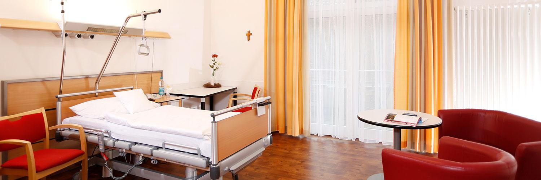 Orthopädische Klinik Hessisch Lichtenau - Zimmer der Klinik